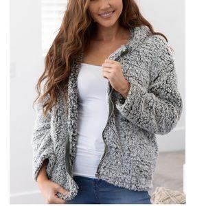 Love Tree Sherpa jacket
